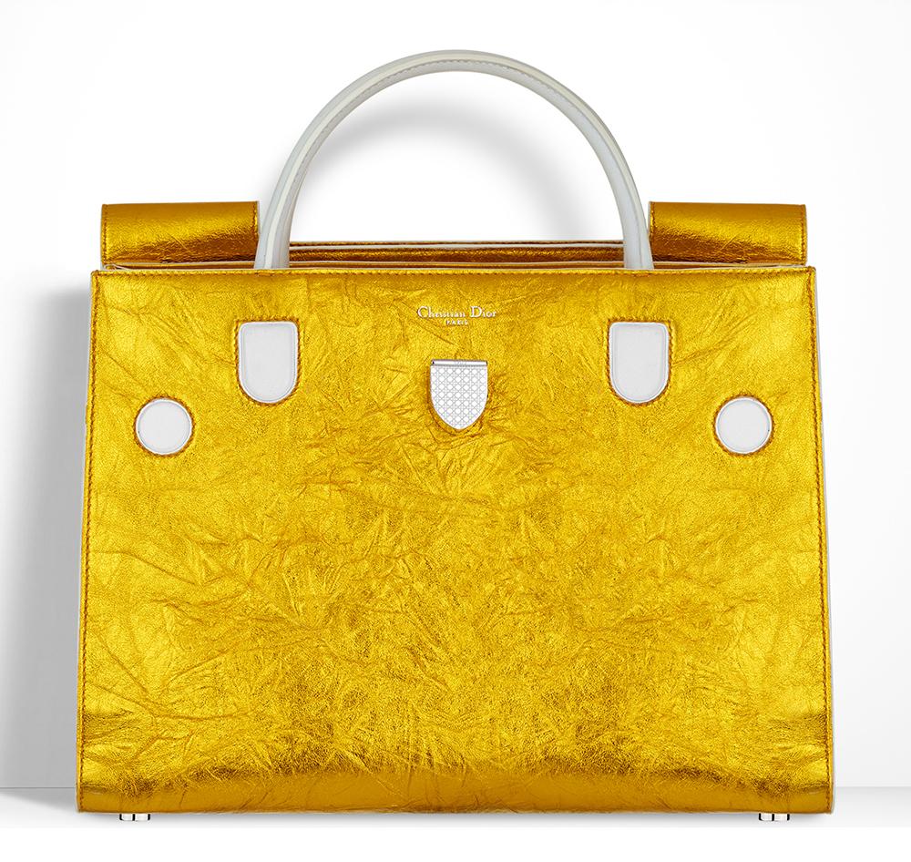 Christian-Dior-Diorever-Bag-Gold