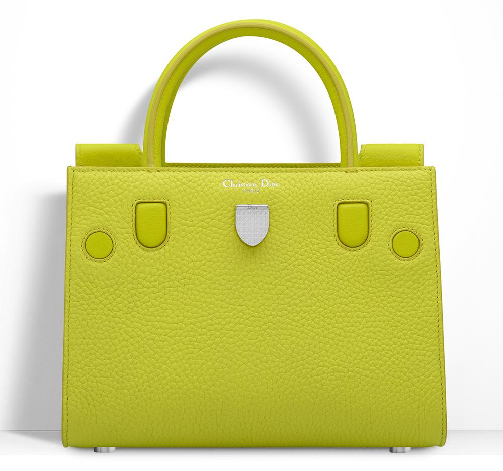 Christian-Dior-Mini-Diorever-Tote-Yellow