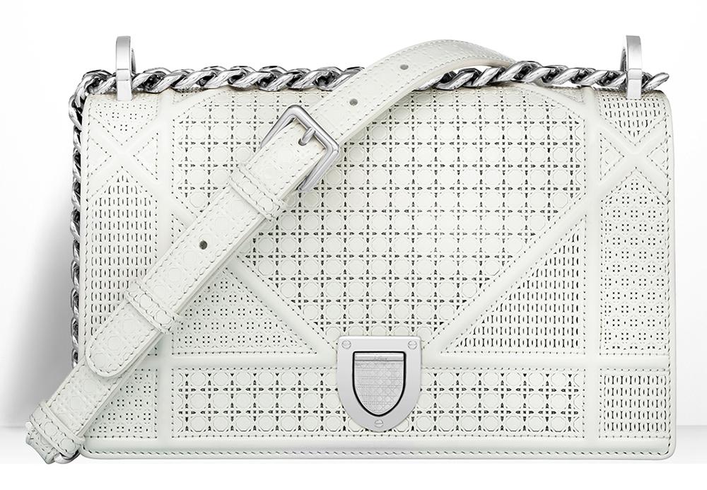 Christian-Dior-Small-Diorama-Bag-White