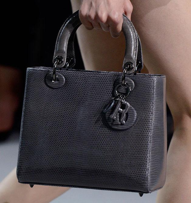 1f9fef403199 Who Makes The Best Fashion Week Handbags  Christian Dior Spring 2012 ...