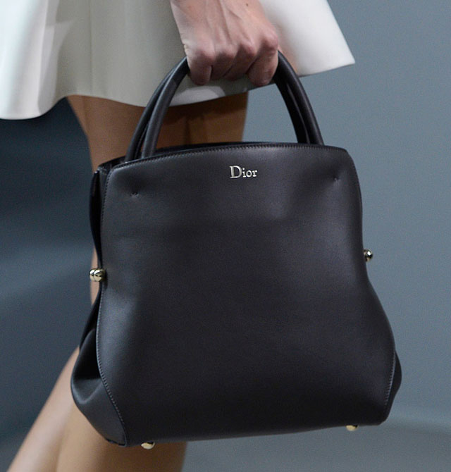 1f9fef403199 Who Makes The Best Fashion Week Handbags  Christian Dior Spring 2012 ...