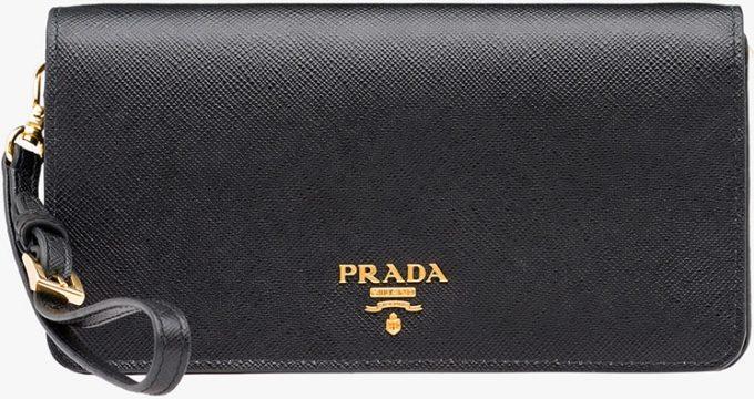 fcffe066b4 Online Safe Replica Bags Prada Saffiano Cellphone Sleeve - Popular ...