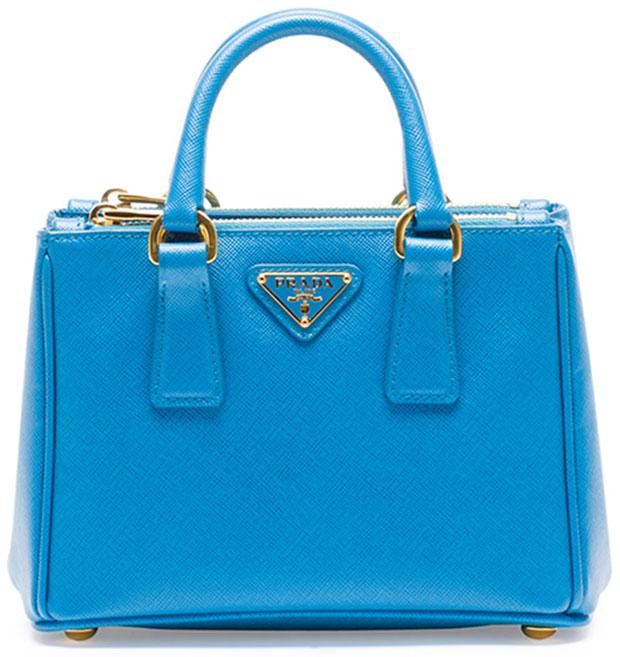 Prada-Saffiano-Mini-Galleria-Bag-Blue