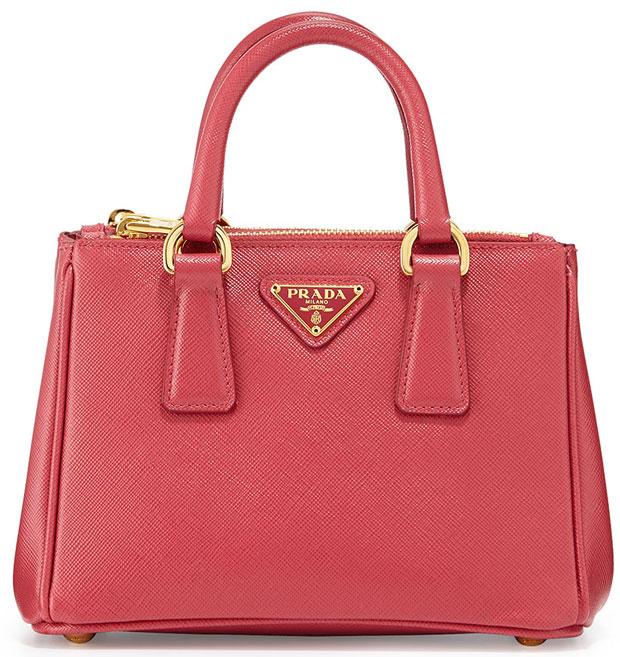 Prada-Saffiano-Mini-Galleria-Bag-Red