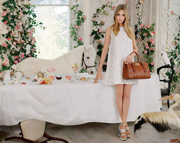 Buying Guide Replica Bags Cara Delevingne x Mulberry SS2014 Ad Campaign e01bed499e717