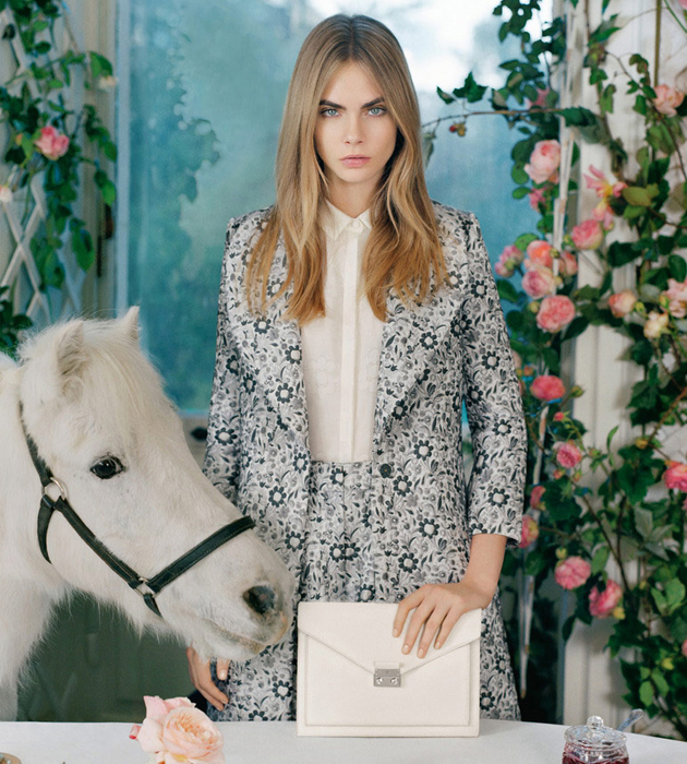 b0cf8fdfe737 Cara-Delevingne-x-Mulberry-SS2014-Collection-3. mulberry bags las vegas  replica ...