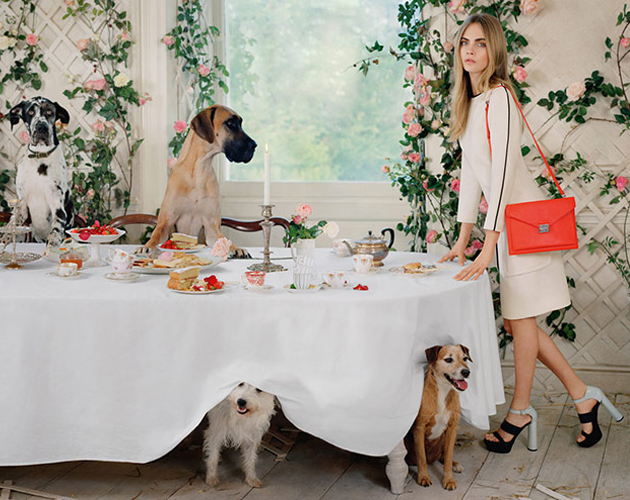 0de1c0f74395 Buying Guide Replica Bags Cara Delevingne x Mulberry SS2014 Ad ...