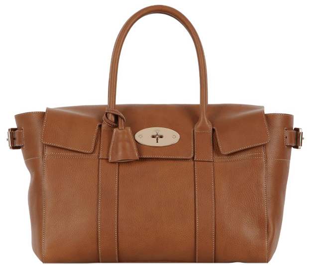 Mulberry-Bayswater-Buckle-Bag-Brown