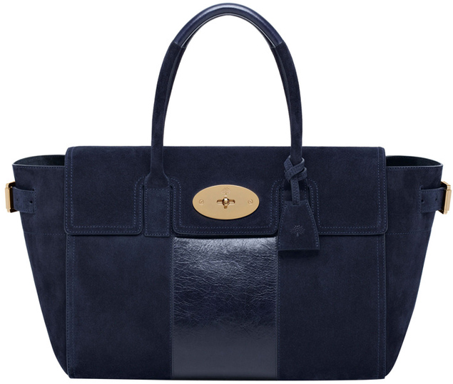 Mulberry-Bayswater-Buckle-Bag-Midnight-Blue-With-Calf-Stripe