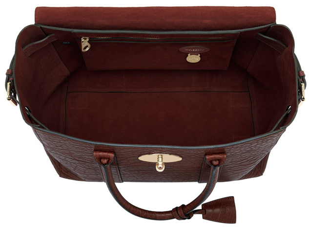 Mulberry-Bayswater-Buckle-Bag-Oxblood-Shrunken-Calf-interior