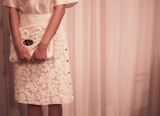 Mulberry-White-Floral-Clutch-Bag