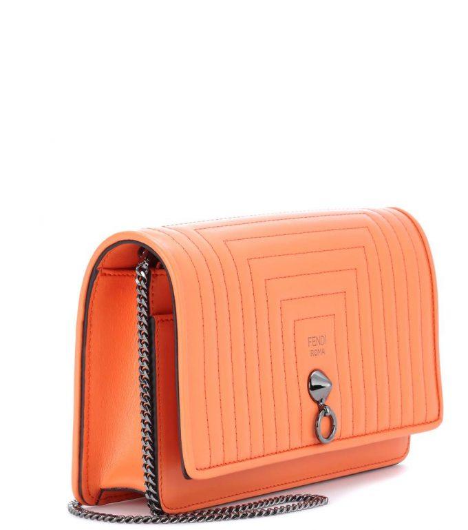 e62e286f2816 Fendi Small Flap leather shoulder bag - Popular Prada Handbags ...
