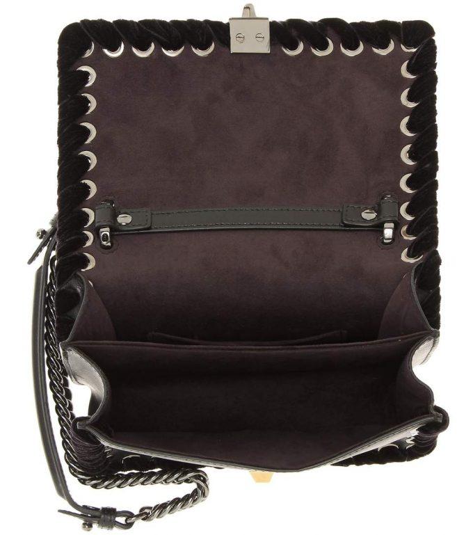 18d1022f7b28b5 Fendi Kan I Small leather shoulder bag - Popular Prada Handbags ...