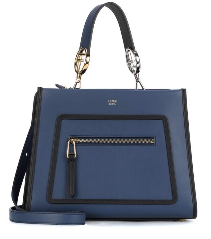 2fa2ffdd8739 Fendi Runaway Small leather shoulder bag - Popular Prada Handbags ...
