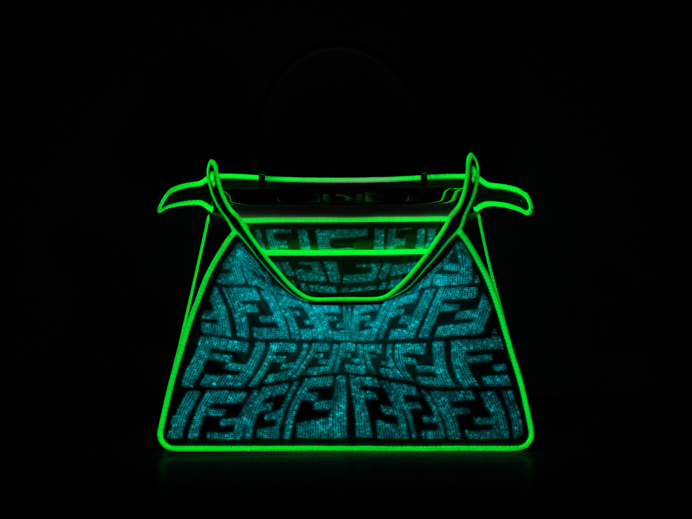 Replica Glow-in-the-Dark-Fendi-Peekaboo