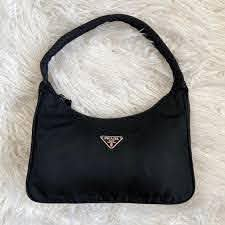 Replica Prada Black Nylon Mini Bag