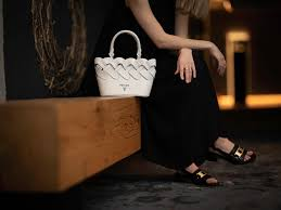 cheap Replica Prada's New Woven Motif Bags